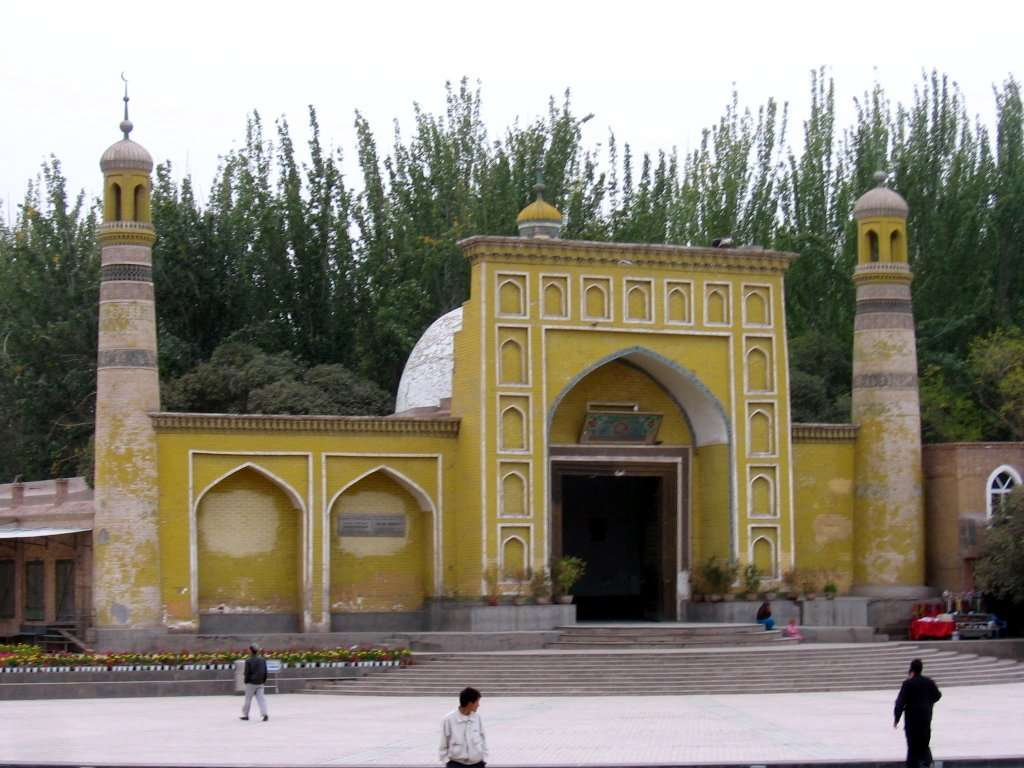 Id  Kah  Mosque  in  Kashgar  china