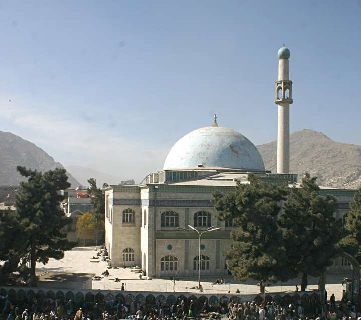 Pulkheshti   Mosque  in  Kabul  Afghanistan