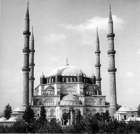 Selimiye  Mosque  in  Edime  Turkey