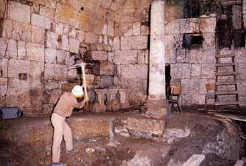 حفاری های زیر مسجد الاقصی