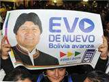 Morales President of Bolivia: Once Again
