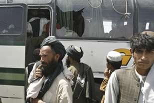 Nato said its soldiers in Kandahar opened fire on the bus after it ignored signals to slow down