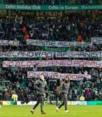 Celtic to ban fans over poppy protest