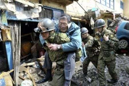 Rescue mission underway in NE Japan