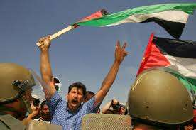 Palestinians March, Israelis Repress