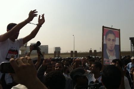 Scuffles break out at Mubarak trial