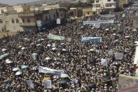Yemenis call for end to Saleh, not Awlaqi