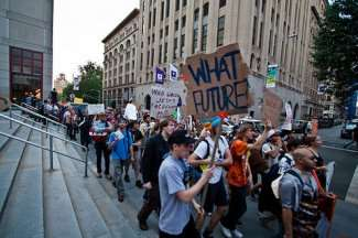 Occupy Wall Street Reflects Increasing Frustration
