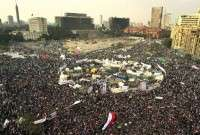 Tens of thousands of Egyptians have taken to the streets to renew their protest against the military junta rule in post-revolution Egypt