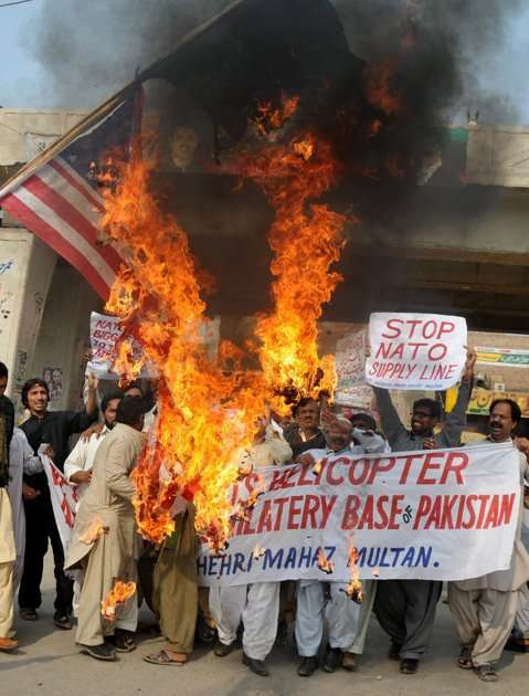 Anti-NATO & US protests in Pakistan
