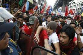 Philippine police suppress Occupy rally
