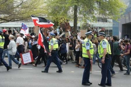 New Zealand removes Occupy camps