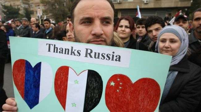 Syrians must decide Assad fate: Russia