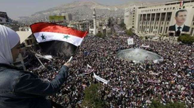 Syria, battlefield for global rivalry