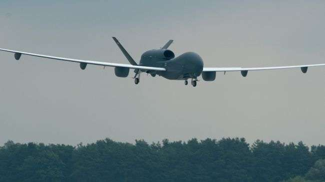 Report: US military drones operating over Syria