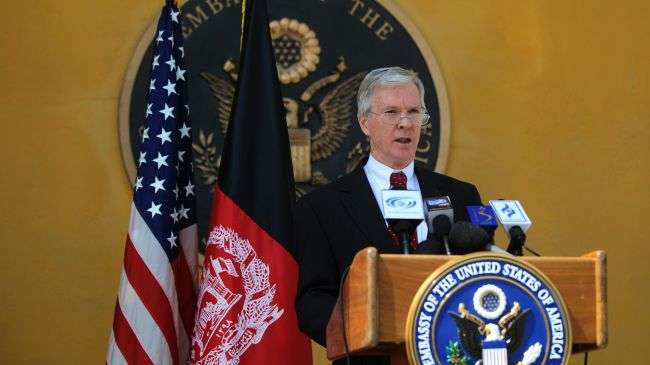 American envoy to Kabul says US should resist early pullout