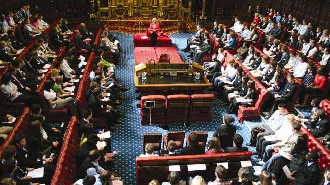 'Unelected Lords push UK backwards'