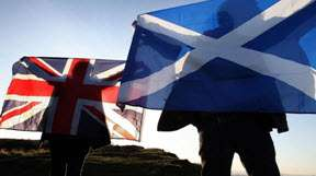 Quarter of England backs Scotland for split