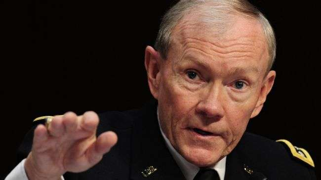Chairman of the US Joint Chiefs of Staff General Martin Dempsey