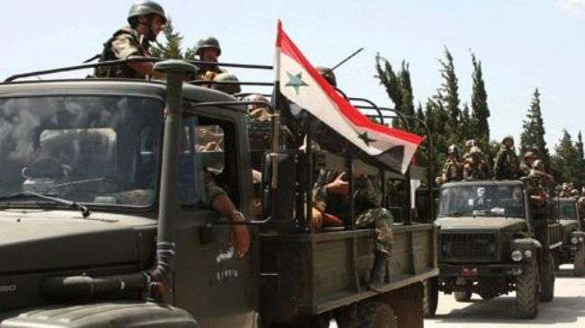 Syria arrests terrorists responsible for Homs massacre