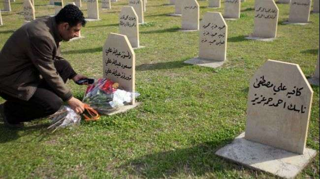 Iraqi Kurds mark 24th anniversary of Halabja chemical attack