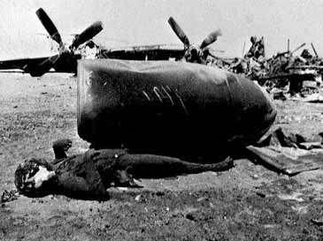 Pesawat Amerika di Tabas