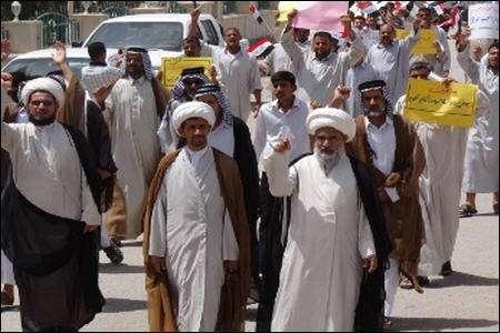 أهالی النجف یرفضون تدخل السعودیة فی شؤون العراق