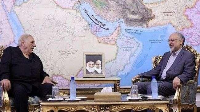 Ali Akbar Salehi, Menlu Iran dan Ahmad Jibril, Pejuang Palestina