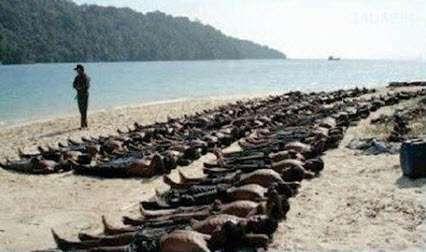 هولوکاست واقعی مسلمانان در میانمار + عکس