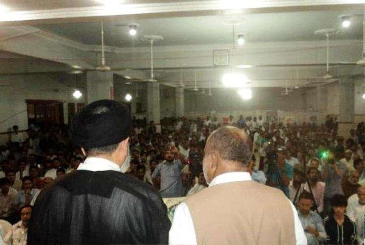 مجاہد ملت شہید ڈاکٹر حیدر کی برسی کے پروگرام کی تصویری جھلکیاں