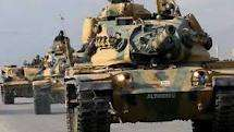 Turkey deploys tanks near Syrian border