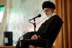 Ayatullah Ali Khamenei, Rahbar atau pemimpin Revolusi Islam di Iran.jpg