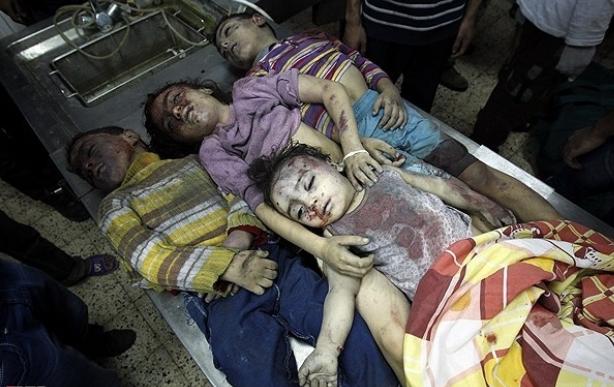 کودکان مظلوم نوار غزه