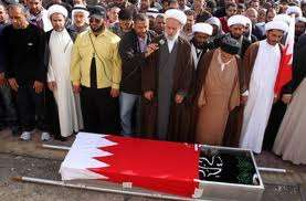 Protester's burial will shake pillars of Al Khalifa regime