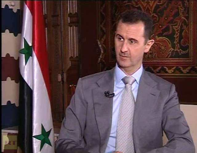 Assad: Shallow, Immature UK Supporting Terrorism
