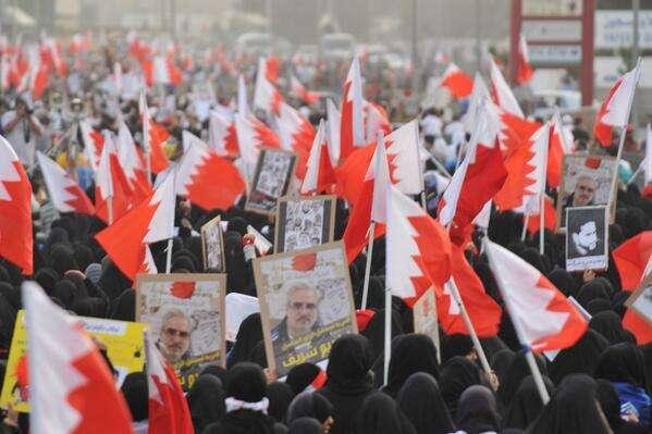 البحرین: تظاهرة حاشدة فی ثانی أیام الحراک الشعبی