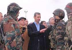Assad bersama Tentara Arab Suriah