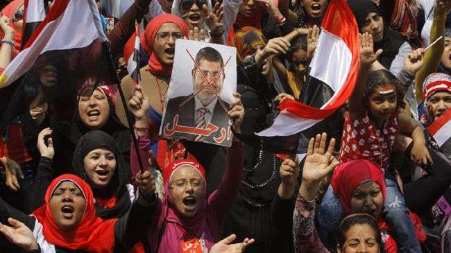 Demo anti Morsi