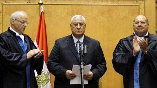 Presiden sementara Mesir