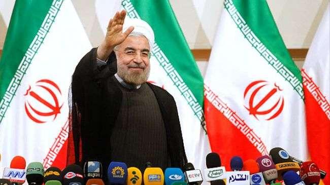 Presiden terpilih Ira, Hassan Rohani