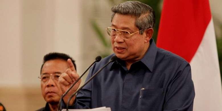 Presiden Susilo Bambang Yudhoyono | KOMPAS IMAGES/KRISTIANTO PURNOMO