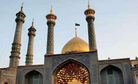 Qom, makam Sayyidah Ma