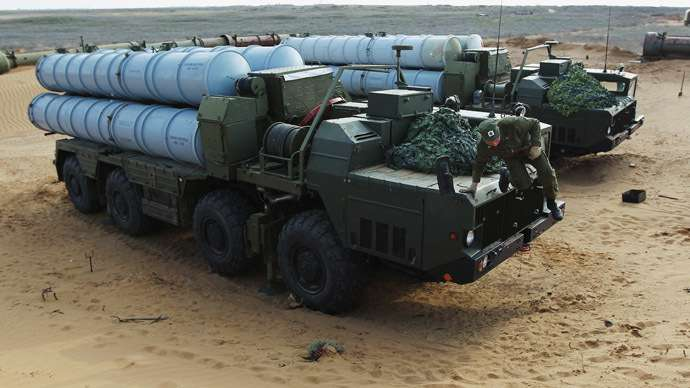 Sistem rudal S-300 Rusia, Russia Today (RT)