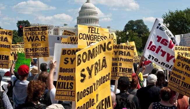 Demo di depan US Capitol, 7/9/13