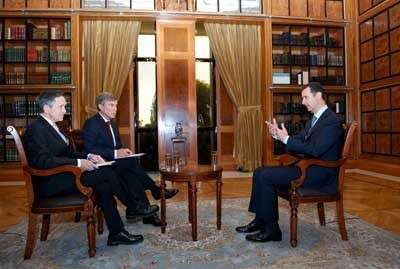 Assad dalam wawancara dengan Fox News, Rabu, 18/09/13