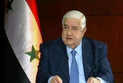Moallem: Syrian Civil War Could End in Weeks