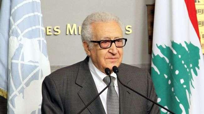 Lakhdar Brahimi, Utusan Khusus PBB dan Liga Arab untuk Suriah.jpg