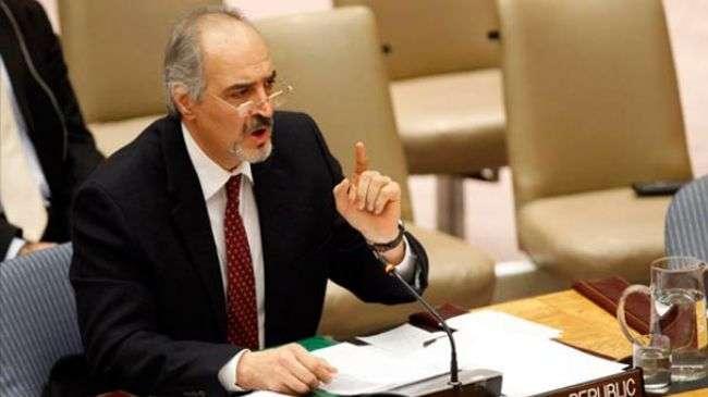 Bashar al-Ja'afari, Duta Suriah di PBB.jpg