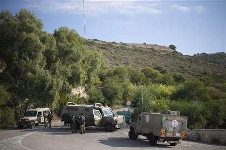 Tentara Israel di Perbatasan