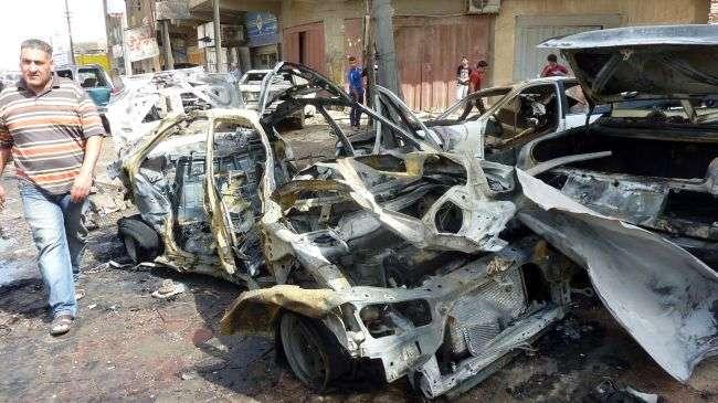 Ledakan Bom Mobil Bunuh 16 Orang di Suriah